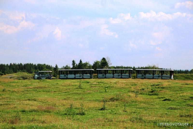 Tschu-Tschu-Bahn im Zoo Sauvage