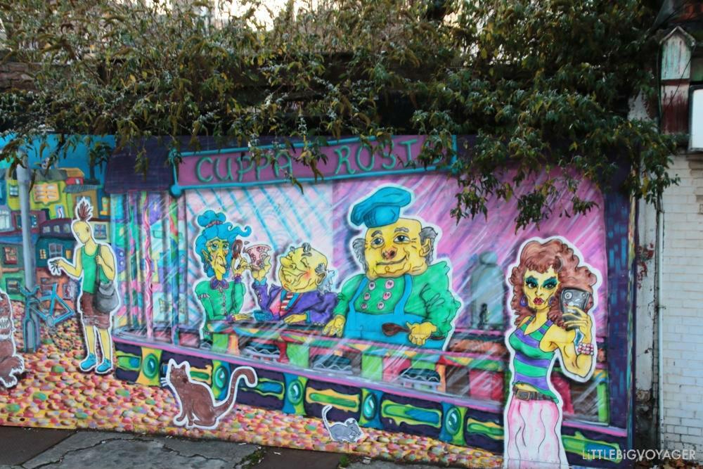 Streetart irgendwo in Dublin