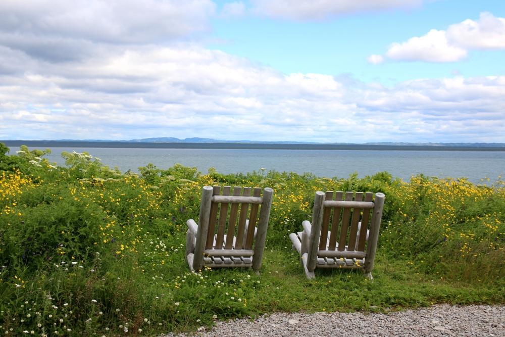 kanadische Holzstühle