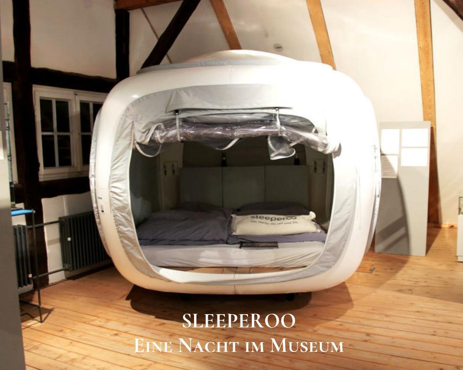 sleeperoo - ein Nacht im Museum