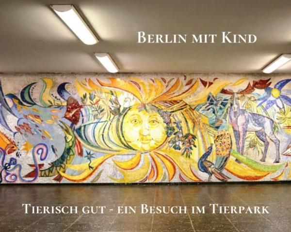 Streetart im U-Bahnhof Berlin Tierpark