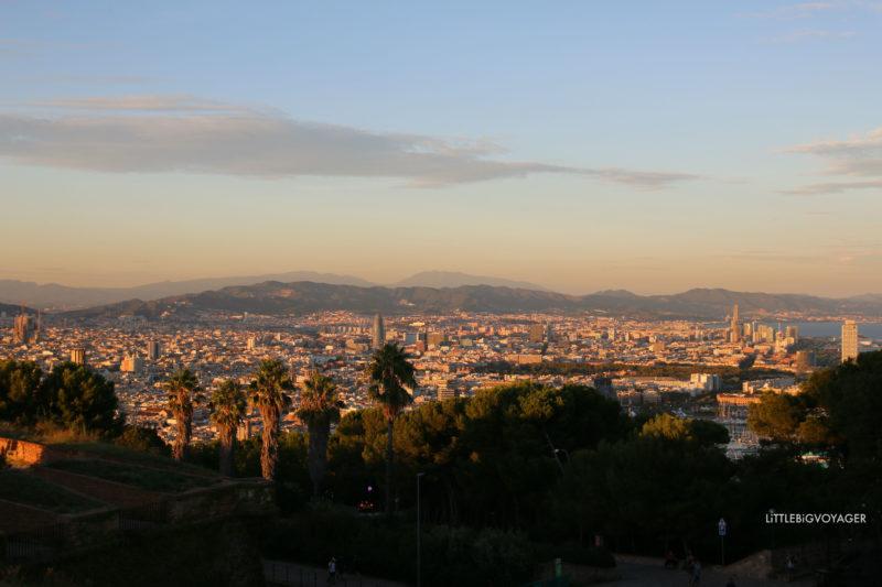 Grandiose Aussicht auf Barcelona